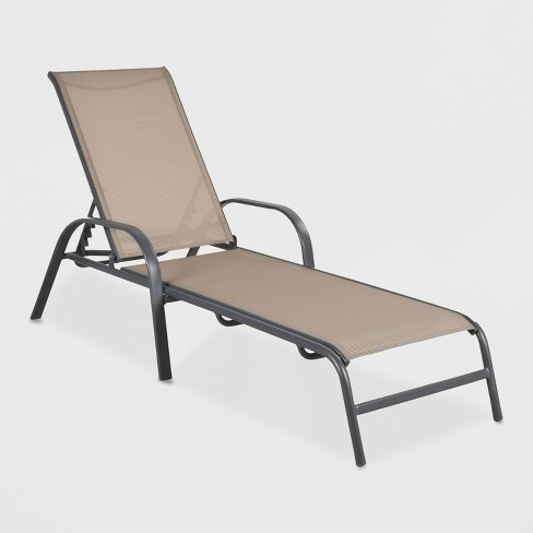 Small lot (2items) \u2013 Stack Sling Patio Chaise Lounge Chair Tan \u2013 Retail Value \u2013 $159 & Small lot (2items) \u2013 Stack Sling Patio Chaise Lounge Chair Tan ...